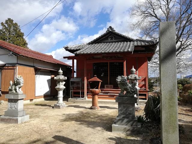 勅使池 神社2