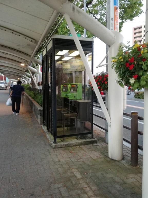 中京競馬場電話ボックス