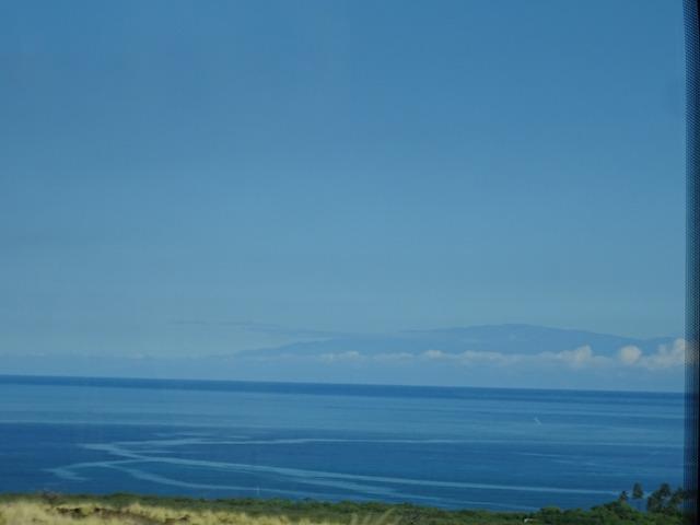 ハワイ島から見たマウイ島ハレアカラ