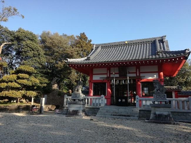 高鴨神社お社(豊明市)