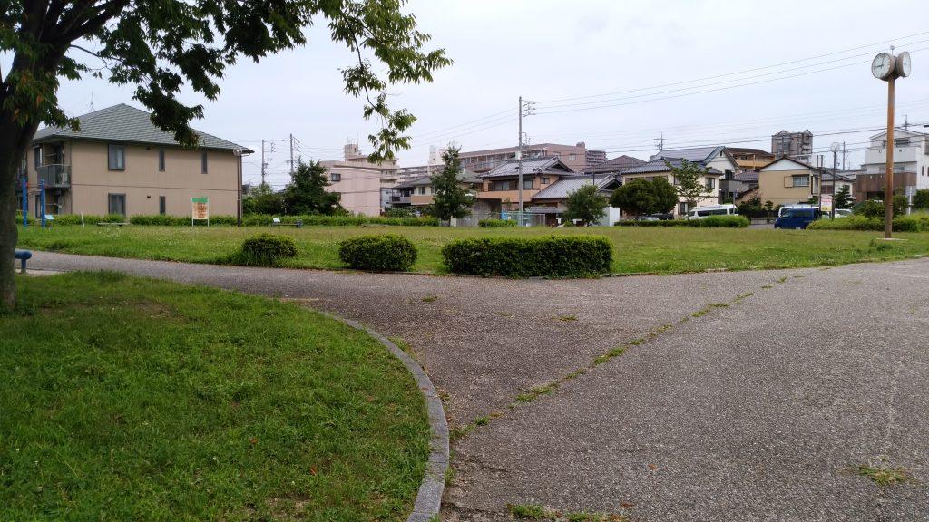 坂畑公園(豊明市栄町坂畑)前後駅近く