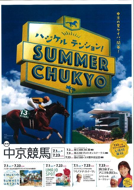 SUMMER CHUKYO(愛知県豊明市の中京競馬場)