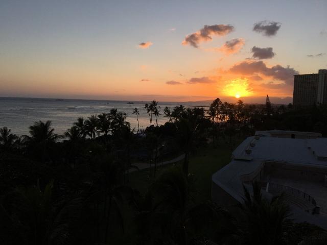 ハワイの風 風景
