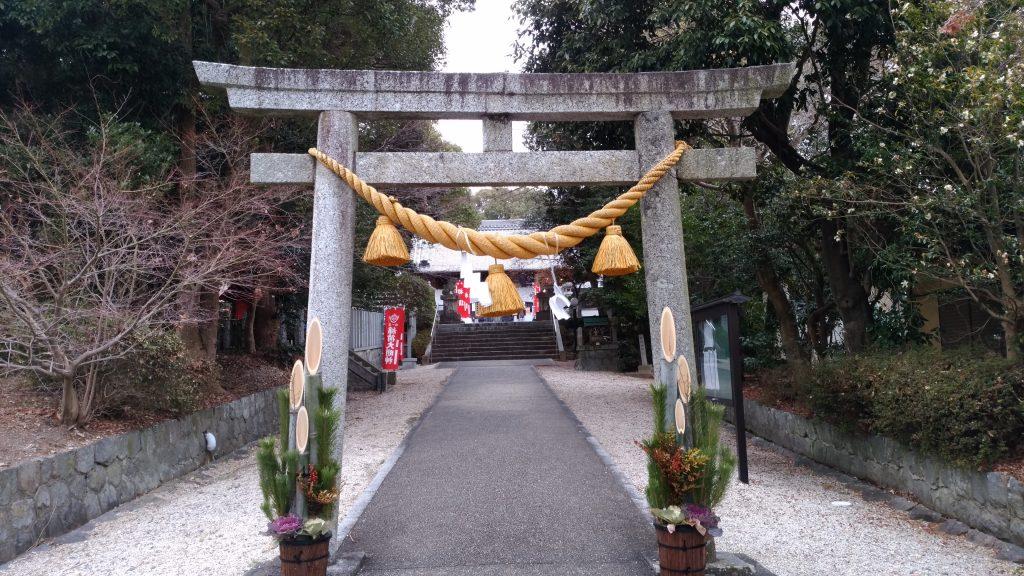 沓掛諏訪神社(豊明市沓掛町)鳥居