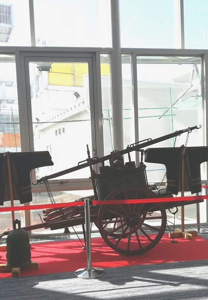 豊明市昔の消防車