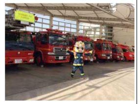 豊明市 救命講習 消防車