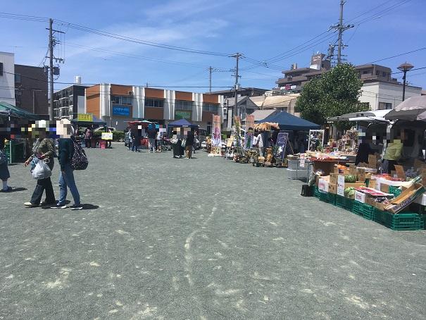 井ノ花公園 軽トラ市