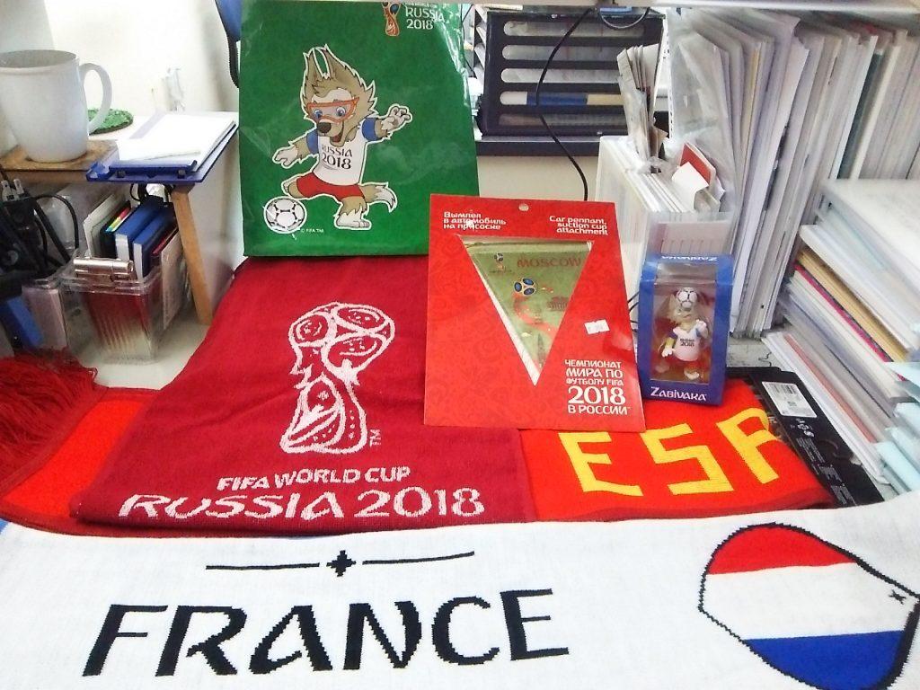 ロシアワールドカップのお土産