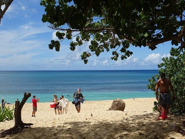 ハワイ オアフ島 サンセットビーチ