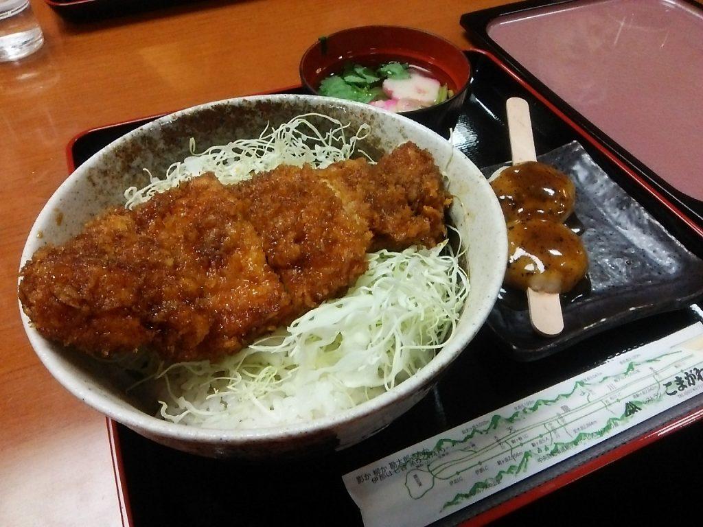 駒ヶ根ソーツかつ丼