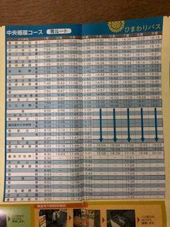 青ルート 時刻表