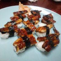 豊明市のさかえ寿司でうなぎをいただく
