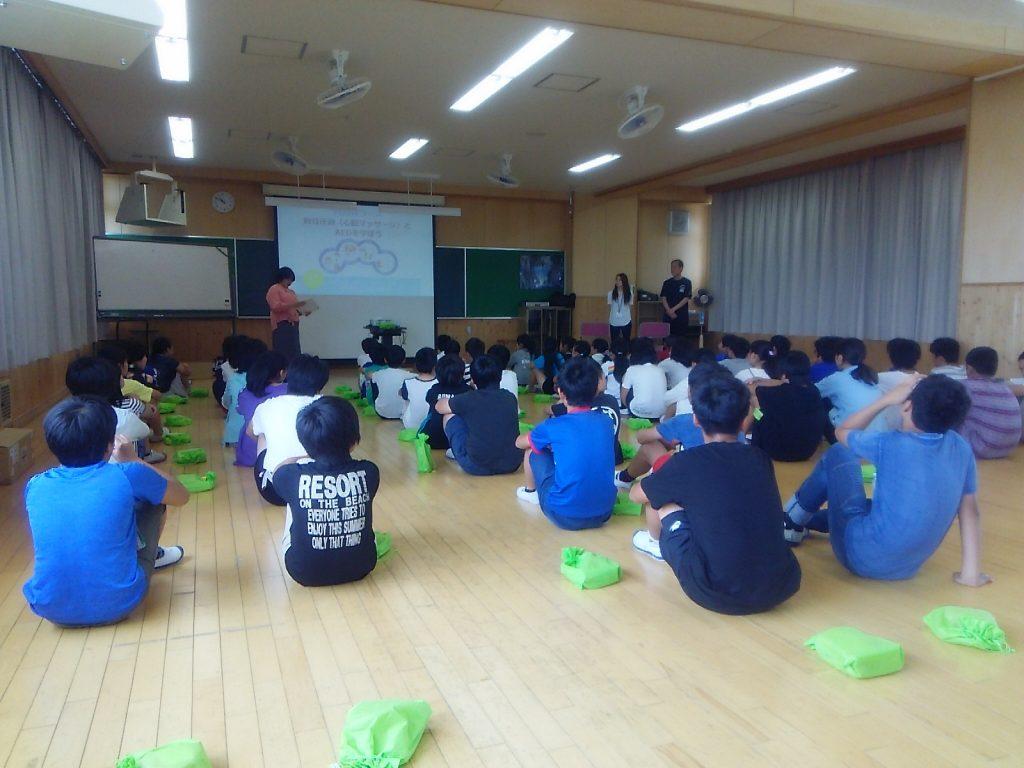 豊明市三崎小学校救命講習