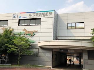 中京競馬場前駅南口