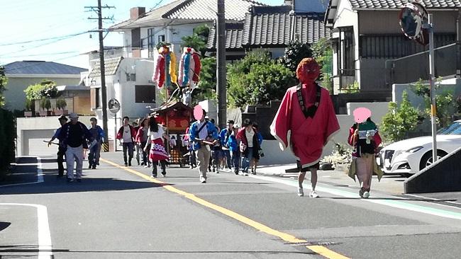 豊明市三崎町高鴨秋祭り