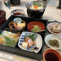 京都の昼食