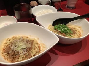 広島の汁なし担々麺