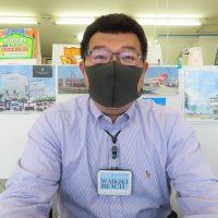マスク着用で