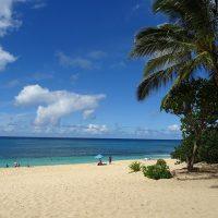 ハワイ オアフ島サンセットビーチ