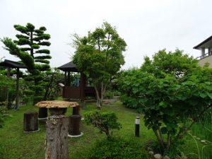 タイ焼き むらさきや お庭1