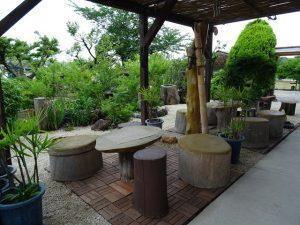 タイ焼き むらさきや お庭2