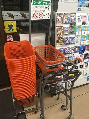 コンビニ ショッピングカート