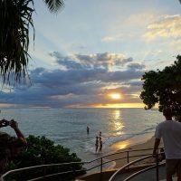 ハワイオアフ島サンセット