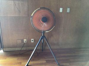 豊明市立三崎小学校 大型扇風機
