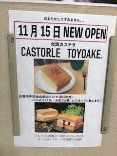 CASTORLE TOYOAKE tirashi