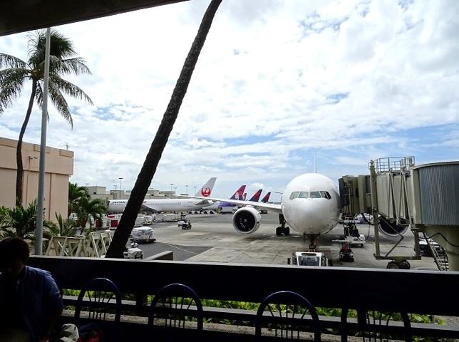 ハワイ ダニエル国際空港