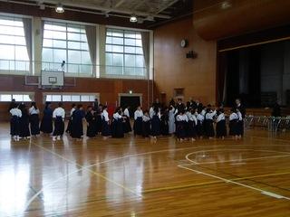 沓掛中学校で開催された、豊明市...